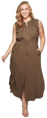 KARI LYN Plus Size London Cargo Dress Women's Dress