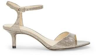 Vince Camuto Imagine Keire – Metallic Kitten-heel Sandal