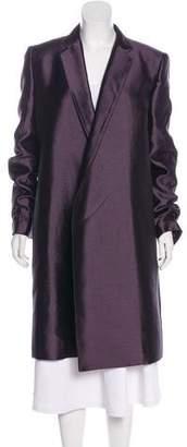 Haider Ackermann Wool & SIlkLong Coat