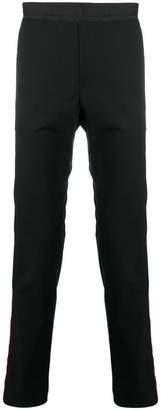 Les Hommes Urban stripe detail track pants