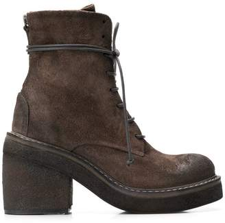 Marsèll lace-up chunky sole boots