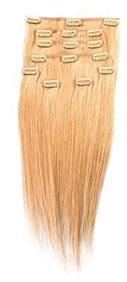 Donna Bella Full Head Human Clip-In Hair Extensions 16