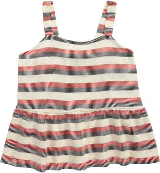 Americana Good Luck Girl Ruffle Tank