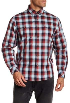 COASTAORO Redford Long Sleeve Plaid Shirt