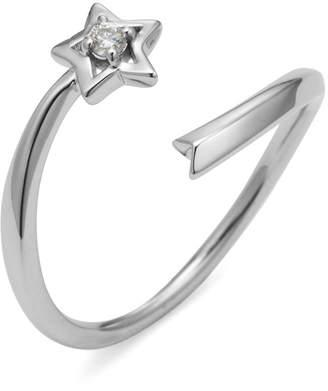 Classic Jewels K10WG ダイヤモンド ポイント スター 爪先リング ホワイトゴールド 11