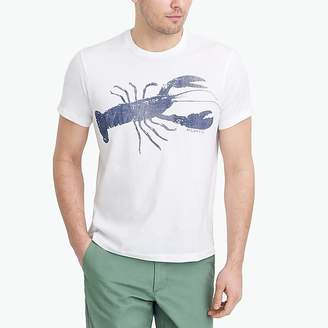 J.Crew Mercantile Mercantile Broken-in blue lobster T-shirt