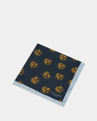 Ted Baker LISS Geo floral silk pocket square