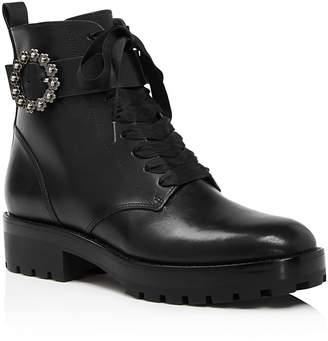 MICHAEL Michael Kors Women's Ryder Leather Booties