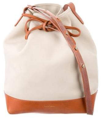 Mansur Gavriel Canvas Bucket Bag