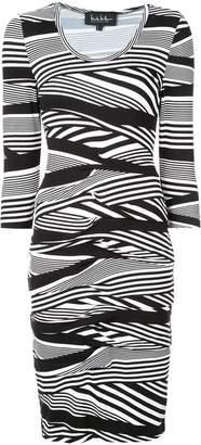 Nicole Miller striped dress