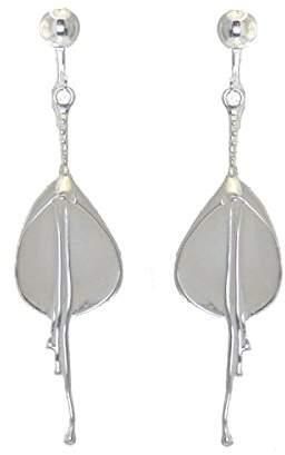 Liliana AJ Fashion Jewellery Plated Flower Clip On earrings by VIZ