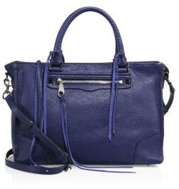 Rebecca Minkoff Regan Leather Satchel $325 thestylecure.com