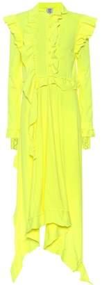 Vetements Ruffled cotton dress
