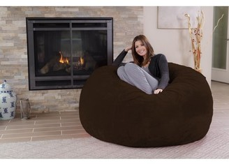 Chill Sack 5 ft Bean Bag Chair, Multiple Colors/Fabrics