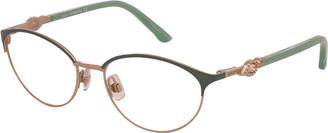 Swarovski Women's Sk5152 53Mm Optical Frames