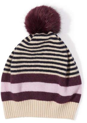 Jigsaw Kilda Faux Fur Pom Hat