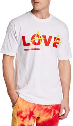 Mauna Kea Men's Love Lava Solid Color T-Shirt