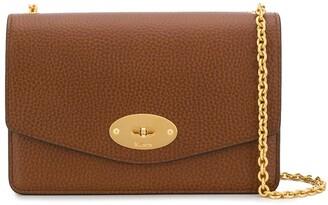 Mulberry foldover chain crossbody bag