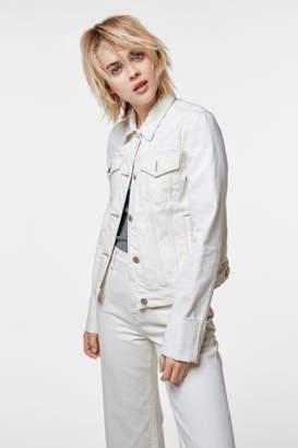 J Brand Slim Jacket In Macadamia