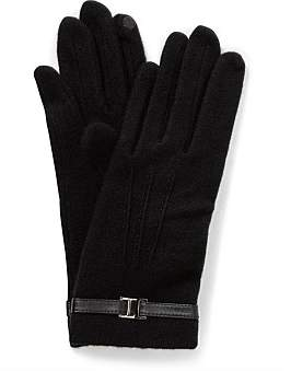 Gregory Ladner Wool Glove W Buckle/Stitch Detail