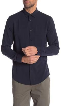 Onia Albert Mini Gingham Slim Fit Shirt