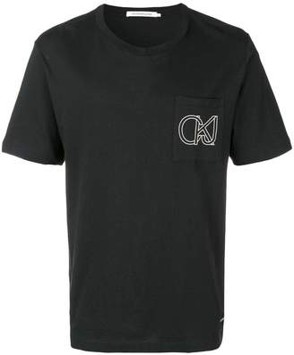 Calvin Klein Jeans outline logo T-shirt