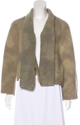 Balenciaga Wool Long Sleeve Jacket