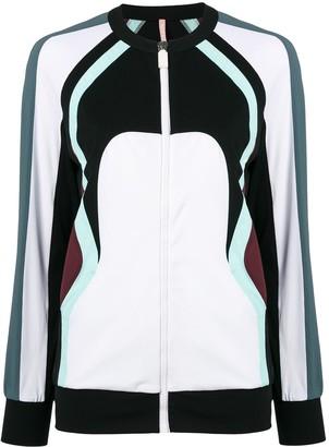 NO KA 'OI No Ka' Oi colour block zip jacket