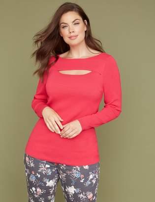Peekaboo Pullover Sweater