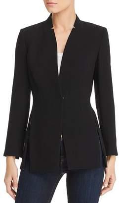 Elie Tahari Ava Snap-Front Jacket