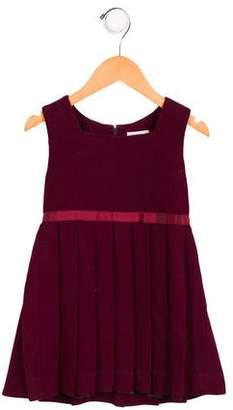 Rachel Riley Girls' Pleated Wool Dress
