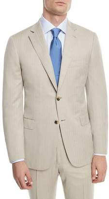 Brioni 150s Wool Herringbone Super Two-Piece Suit