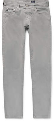 AG Jeans Stockton Skinny-Fit Brushed Stretch-Cotton Trousers