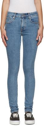 Levi's Blue 721 Jeans $75 thestylecure.com