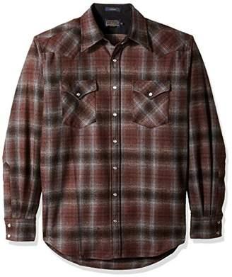 Pendleton Men's Long Sleeve Button Front Tall Canyon Shirt