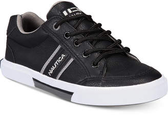 Nautica (ノーティカ) - Nautica Little & Big Boys Perforated Low-Top Lace-Up Sneakers