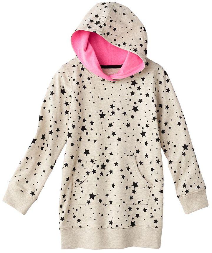 Carter's star hoodie - girls 4-6x
