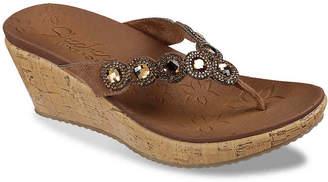 Skechers Beverlee Bizzy Babe Wedge Sandal - Women's