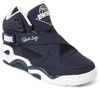 Patrick Ewing (Kids Boys) Navy & Grey Rogue High-Top Sneakers