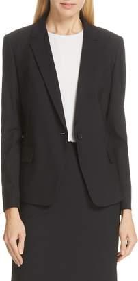 BOSS Jaela Stretch Wool Suit Jacket