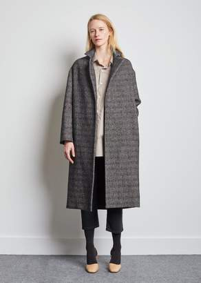 La Garçonne Moderne Writer Overcoat No. 2 Herringbone Stripe