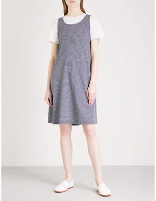 The White Company Striped cotton swing dress