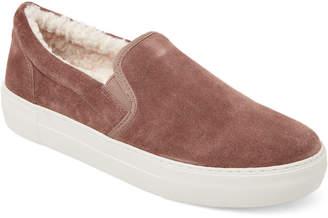 J/Slides Taupe Arpel Suede Slip-On Sneakers