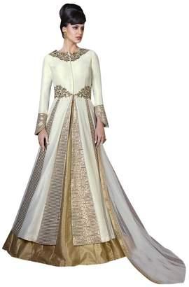 SHRI BALAJI SILK & COTTON SAREE EMPORIUM Bollywood Festival Collection Gown Anarkali Salwar Suit Ceremony Punjabi 320