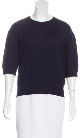 Isabel MarantIsabel Marant Cashmere Short Sleeve Sweater