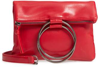 Muche et Muchette Clare Ring Handle Faux Leather Crossbody Bag