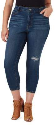 Jessica Simpson Plus Plus Adored Curvy Cropped Skinny Jeans