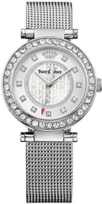 Juicy Couture Women's 1901372 Cali Silver-Tone Stainless Steel Watch $195 thestylecure.com