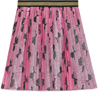Children's lurex bows pleated skirt $530 thestylecure.com