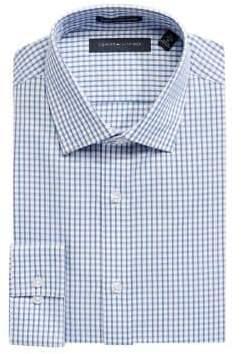 Tommy Hilfiger Slim Fit Check Cotton Twill Dress Shirt
